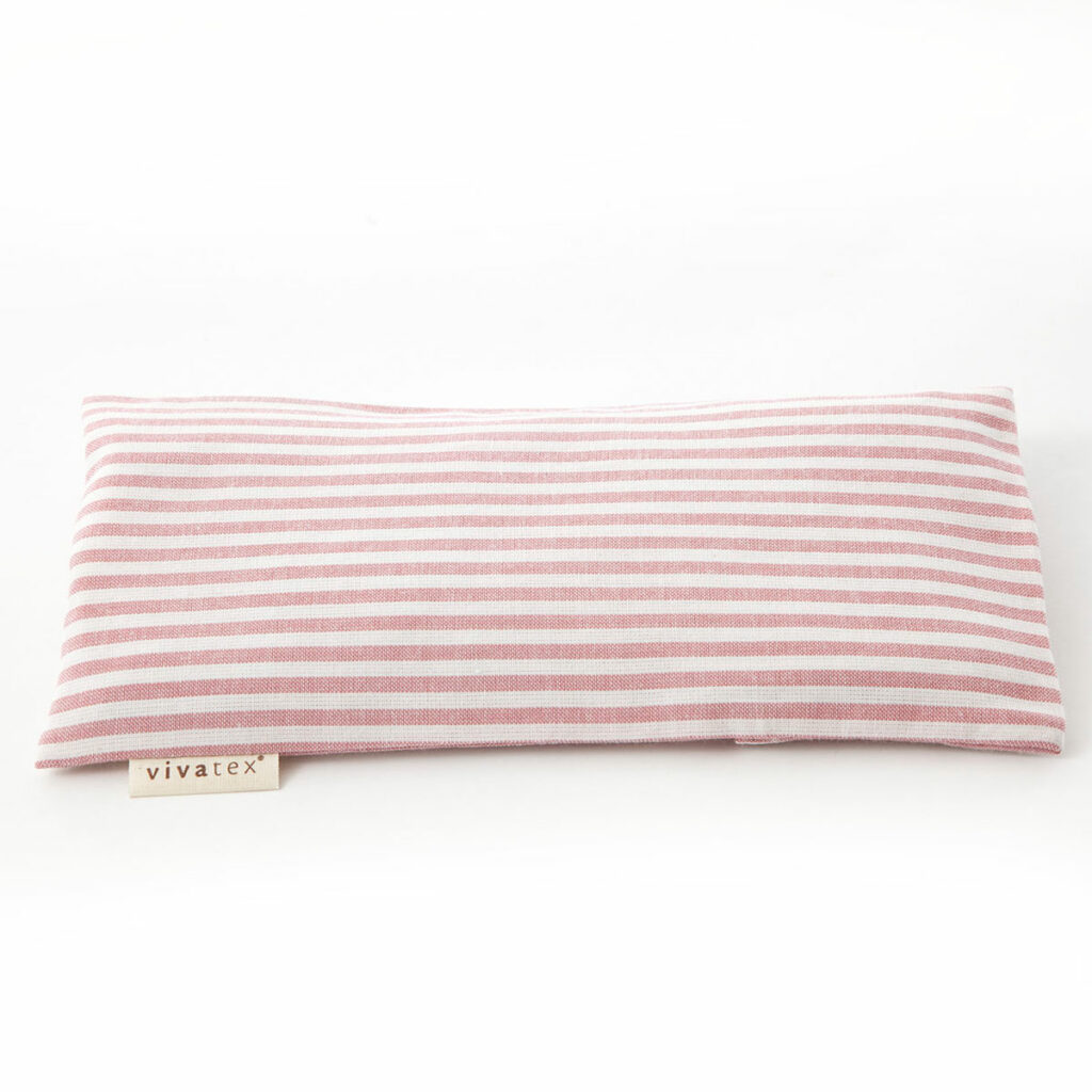 Eye pillow Rosa stribe